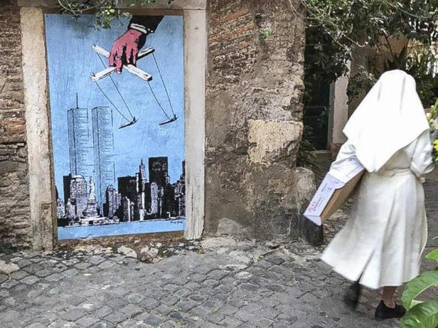 11 settembre murale trastevere