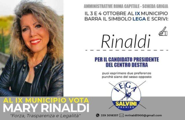 Mary Rinaldi, Lega