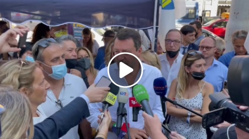 Salvini trionfale