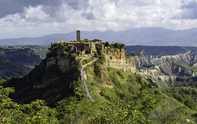 Civita di Bagnoregio borghi Lazio